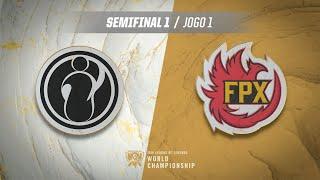 Mundial 2019: Semifinal 1 | Invictus Gaming x FunPlus Phoenix (Jogo 1)
