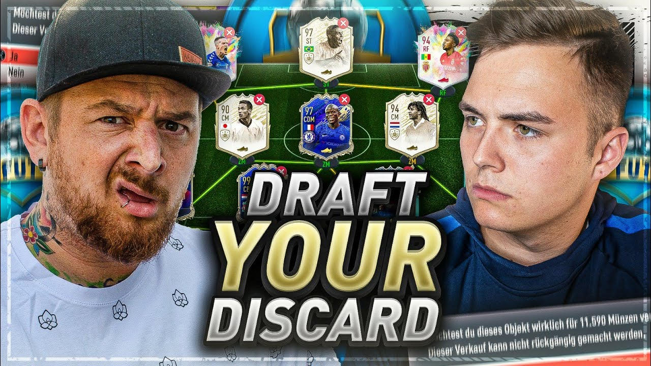 DRAFT YOUR DISCARD 😱 OOKEEEE LETS GO 🔥 vs NOHANDGAMING