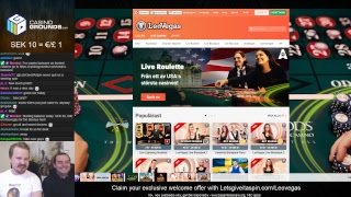 LIVE CASINO GAMES - Back on track for Monday casino 😀