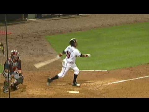 Braves' Bonifacio hits two-run double