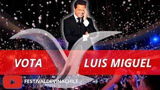 VOTA LUIS MIGUEL: Fans votan por el artista más popular de la historia del #FESTIVALDEVIÑA