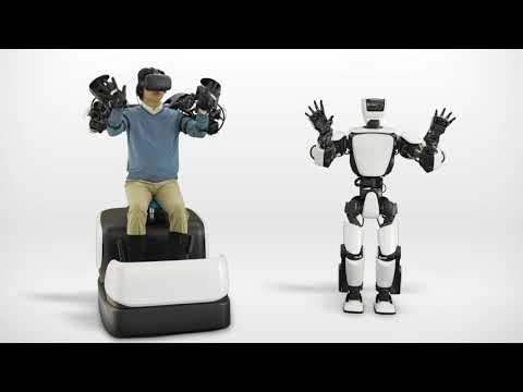 Toyota's THR3 Humanoid Robot Uses HTC Vive for Telepresence