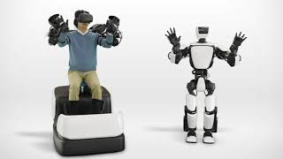 Baixar Toyota's T-HR3 Humanoid Robot Uses HTC Vive for Telepresence