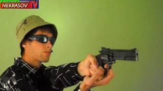 NEKRASOV TV - стрельба из пистолета (edited, starring by EUGENE1_1NEKRASOV) 2012