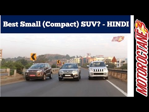 Best small (compact) SUV under 10 lakhs in 2017