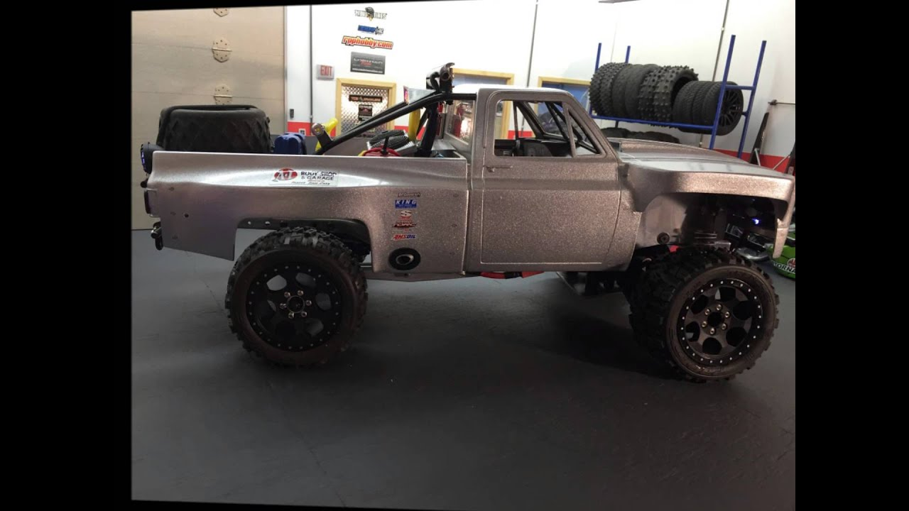 All Chevy 74 chevy : 74 Chevy Prerunner - Proline - Axial - HPI IFS Build - YouTube