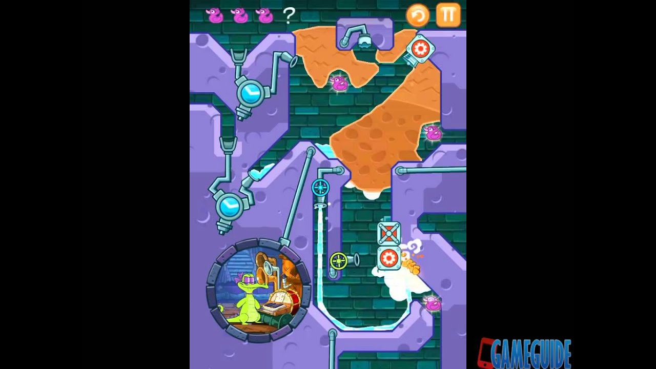 Where's My Water? Level A4-14: A Coal Out of Reach Allie Walkthrough - YouTube