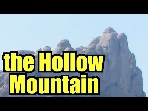 Montserrat, Spain's hollow mountain, secret monastery entrance behind Black Madonna, documentary #39