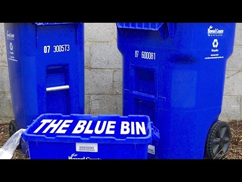 What NOT to Put in the Blue Bin