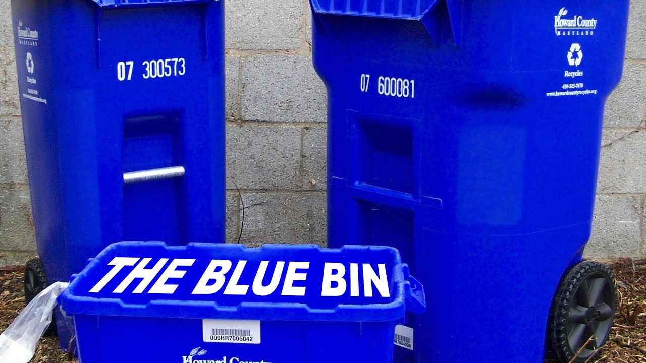 What Not To Put In The Blue Bin Youtube