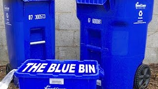 What NOT to Put in the Blue Recycle Bin