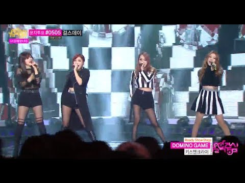 [HOT] Kiss & Cry(DIA) - DOMINO GAME, 키스&크라이(디아) - 도미노 게임, Show Music core 20140208