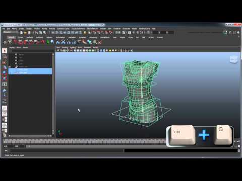 Creating a Character Rig - Part 6: Torso global transform and cleanup
