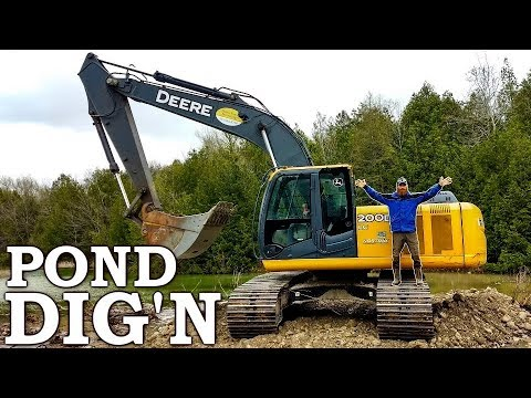 I Hired An EXCAVATOR To DIG A MASSIVE FISH POND!