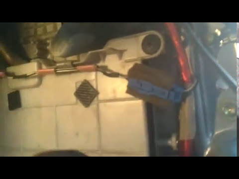 Замена салонного фильтра на тойота камри Sxv10 1992г