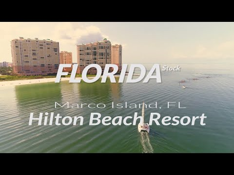 USA, Florida, Marco Island And Beaches, Hilton Beach Resort Promo