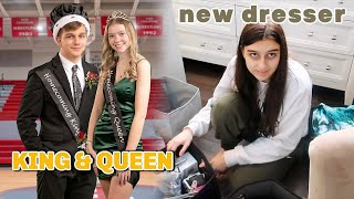 HOMECOMING KING & QUEEN! BEDROOM MAKEOVER UPDATE!