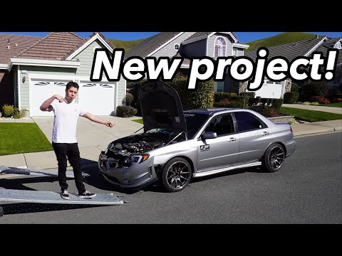 Subaru WRX blows up after only 1,500 miles... AND WE ARE REBUILDING IT!