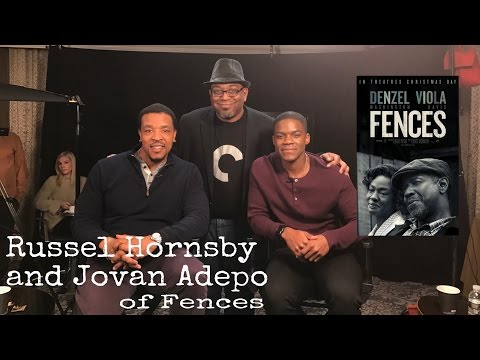 Russell Hornsby & Jovan Adepo  Play Denzel's Sons In Fences  1225