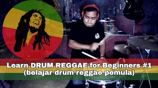 Download Mp3 Learn DRUM REGGAE for Beginners 1