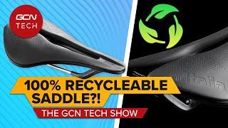 100 % 재활용 가능한 자전거 안장?! | GCN 테크 쇼 Ep. 170