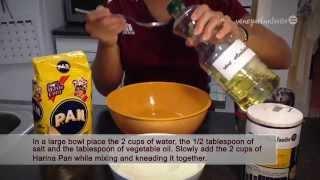 How To Make Arepas in 3 simple steps - Arepa Recipe