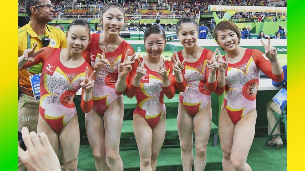 女子体操 日本、48年ぶり4位 体操女子団体総合