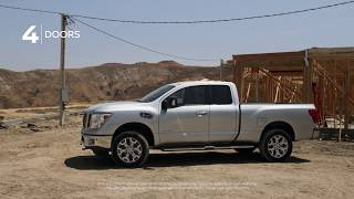 Nissan TITAN and TITAN XD Trucks - King Cab Overview 2019 - ROGEE