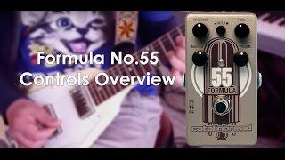 Formula No. 55 Controls Overview Part 2/3
