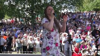 Марина Девятова. Лермонтовский фестиваль в Тарханах. 1 июля 2017 г.