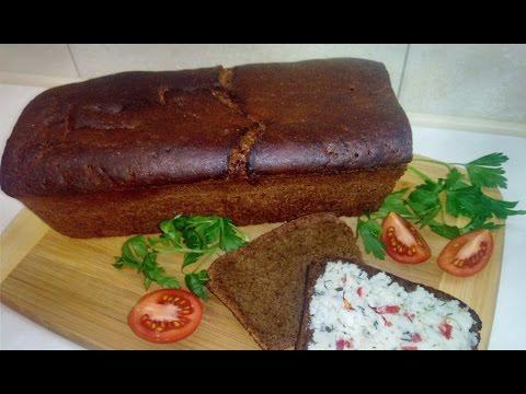 Рецепт: Хлеб на ржаной закваске на