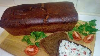 Ржаной заварной хлеб дома
