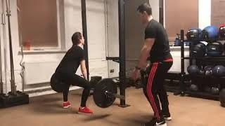 Get Fit Gym, спортивный фитнес-клуб- становая / Видео