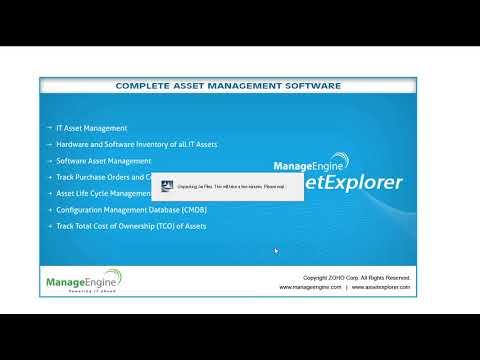 AssetExplorer Installation Video