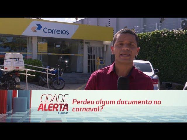 Perdeu algum documento no carnaval?