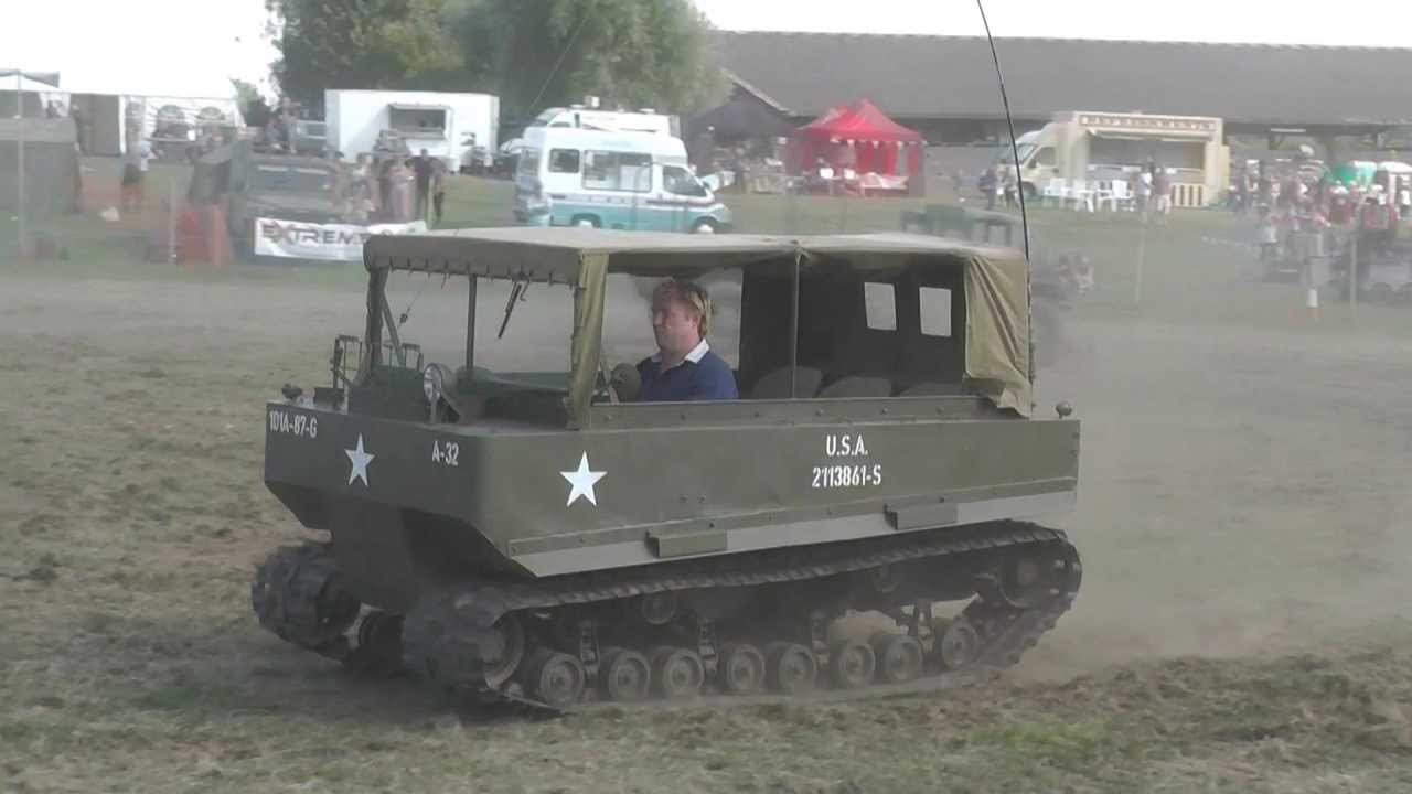 hight resolution of studebaker m29 weasel in action at tanks trucks firepower 2013 youtube