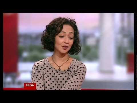 Ruth Negga on BBC Breakfast 26.09.11