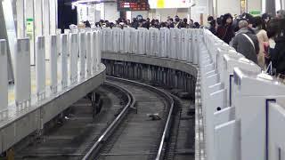 2018.1.1 京王8000系8713F 高尾山トレイン 迎光号 新宿入線