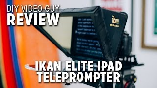 iKan Elite iPad Teleprompter Review + Unboxing