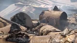 جريمة جديدة ترتكبها المليشيات الحوثية بقصف منشأة صناعية في مدينة الحديدة