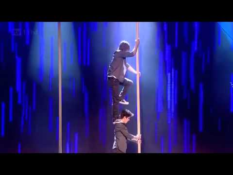 Royal Variety Performance 2011 - Base Berlin Amazing athletic chinese pole performance