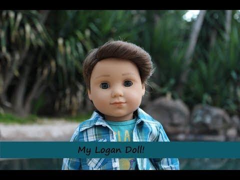 My American Girl Doll Boy- Logan