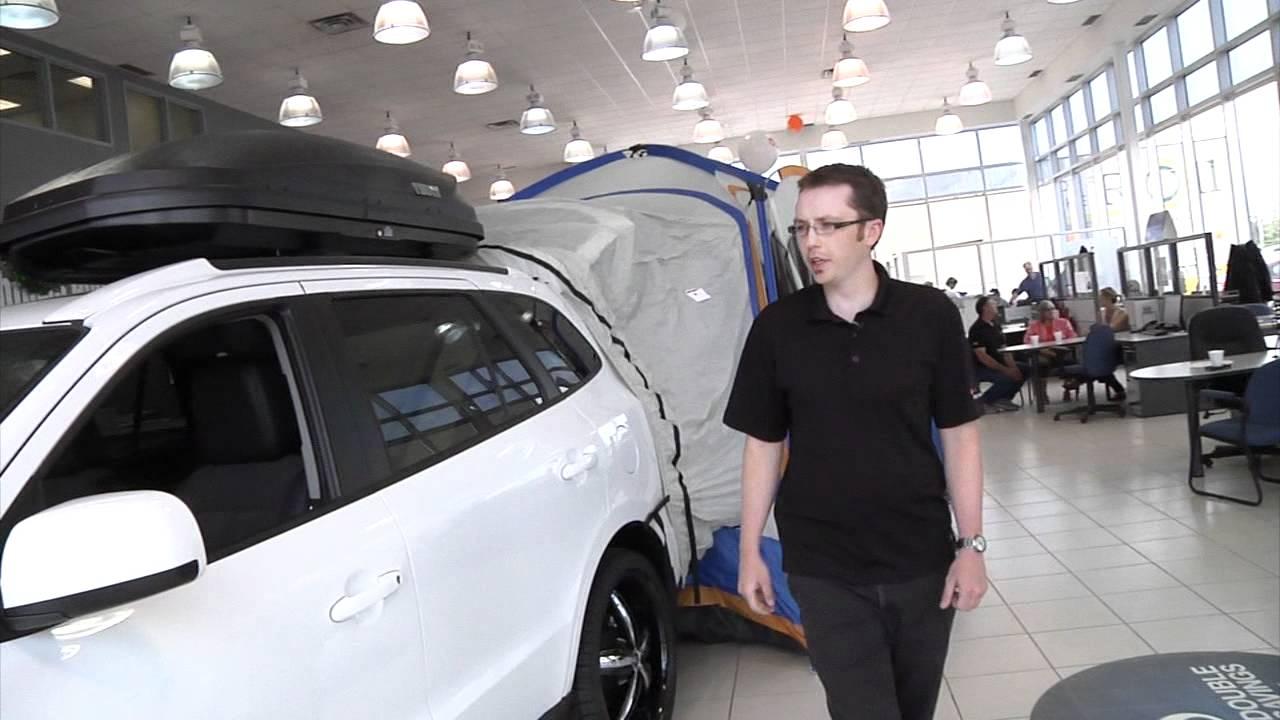 Santa Fe Suv >> Hyundai Camping Package - YouTube
