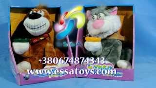 Музыкальный Кот и Пес Копилка, оптовая база игрушек http://essatoys.com