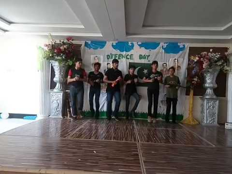Grade 7 and 8 Boys performance- Defence Day of Pakistan- Thinker's Alliance