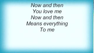 Archive - Now And Then Lyrics