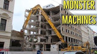 Monster Demolition Machines Excavator - Komatsu, Liebherr, CAT, Volvo