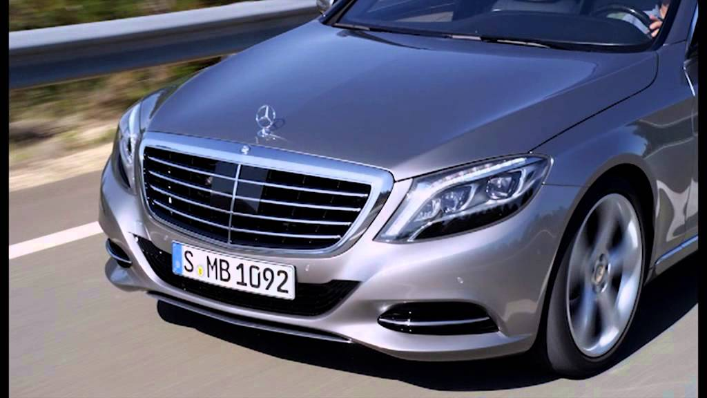 Wonderful 2014 MercedesBenz S400 Hybrid Driving   YouTube