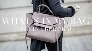 What's In My Bag | Céline Belt Bag