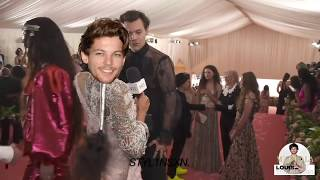 LOUIS TOMLINSON AND HARRY STYLES AT THE MET GALA 2019 ♥ - STYL1NSXN